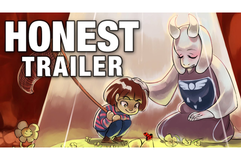 UNDERTALE (Honest Game Trailers) - YouTube