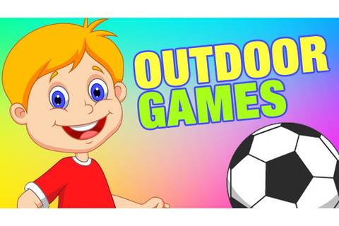 Outdoor Games Names For Kids | Simba Tv | #KidsLearning ...