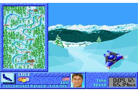 Games, The: Winter Challenge Download (1991 Sports Game)