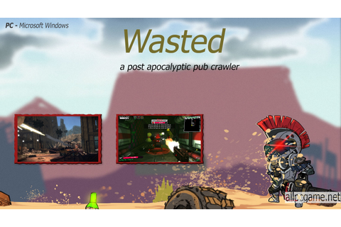 all Pc Game: Wasted Game - PC Cover and System Requirements