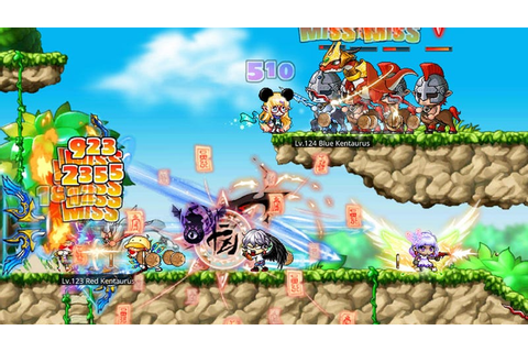 Maplestory M Is An MMO For People With Less Free Time