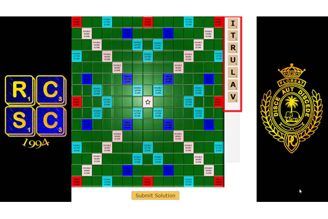Introduction to Virtual Scrabble - Online Scrabble Game ...