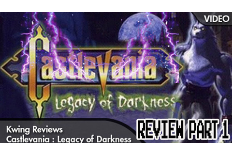 Castlevania: Legacy of Darkness Review (N64) - YouTube