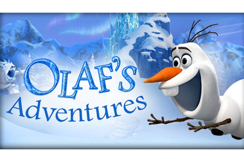 Disney Frozen - Olaf's Adventures 3D iPad Game Collecting ...