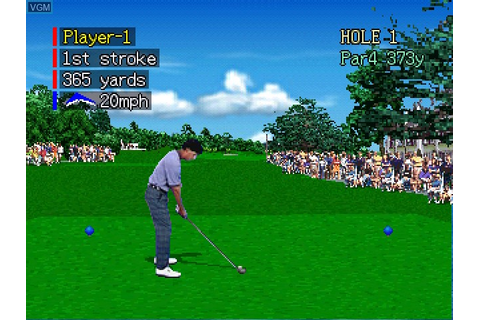 Pebble Beach Golf Links for 3DO - The Video Games Museum