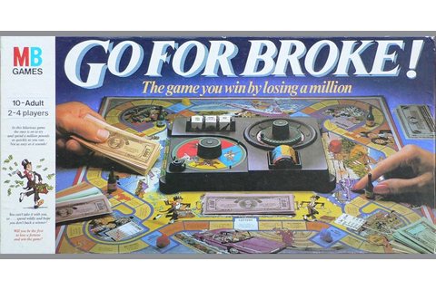 Go For Broke | Board Game | BoardGameGeek