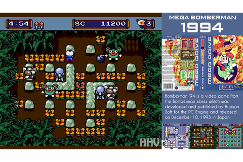 Mega Bomberman - PC GAME Download - YouTube