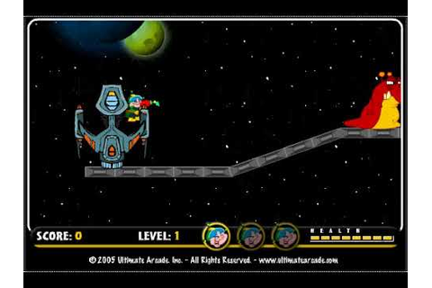 Space Dude (PC browser game) - YouTube