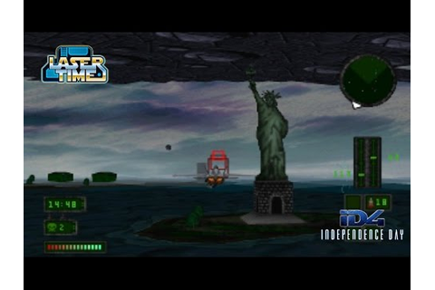 Independence Day - PS1 Gameplay & Ending - YouTube