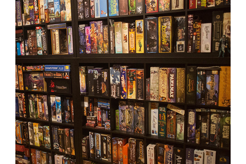 Board game shelves around the world #10 – Analog Games