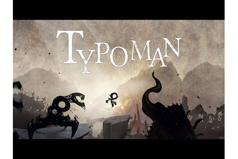 Typoman - Official Launch Trailer (Wii U) - YouTube