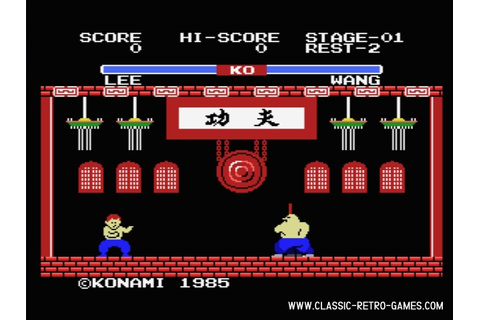 Download Yie Ar Kung-Fu & Play Free | Classic Retro Games