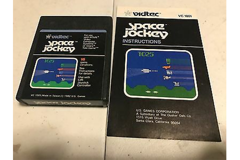 Space Jockey (Atari 2600, 1982) Game and Manual - Tested ...