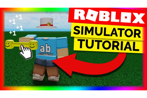 How To Make A Simulator Game On Roblox - Part 1 - YouTube