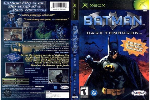 bol.com | Batman Dark Tomorrow,Kemco | Games