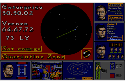 Star Trek: The Rebel Universe Screenshots for Atari ST ...