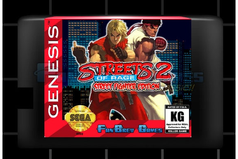 SPECIAL ORDER Streets Of Rage 2: Street Fighter