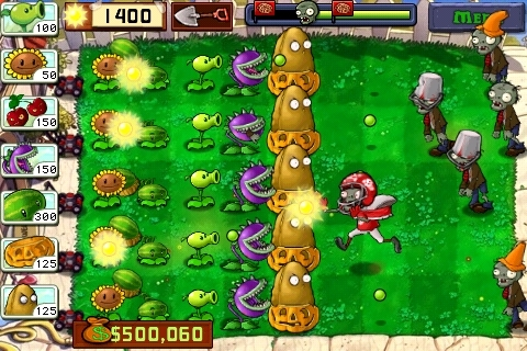 Mundo Definhado: Plants vs. Zombies