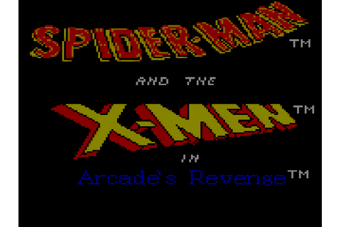 Spider-Man and X-Men - Arcade's Revenge Screenshots ...