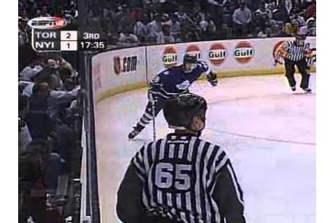 ESPN National Hockey Night Game 4 2002 Eastern Conference ...