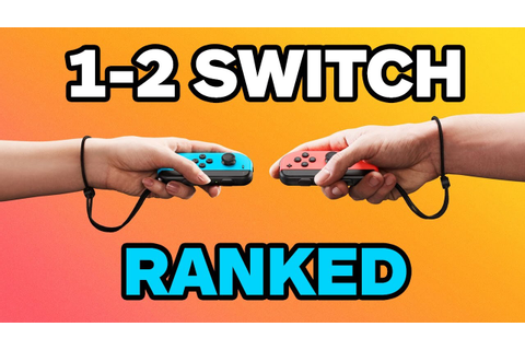 1-2-Switch: Ranking the 28 Minigames - YouTube
