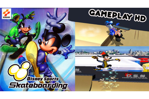 Disney Sports Skateboarding Gameplay - Gamecube HD - YouTube