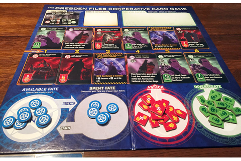 Dresden Files Cooperative Card Game Review | Board Game Quest