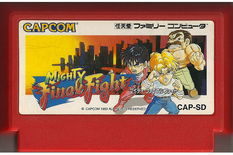 Mighty Final Fight – Famicom | Retro Video Gaming