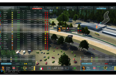 Motorsport Manager, 2016 · F1 Fanatic