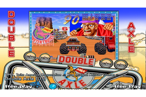 "Double Axle "" Taito (1991) "" ≡ Racing Arcade Game ..."