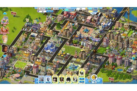 SimCity Social Gameplay - YouTube
