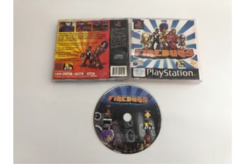 Firebugs PS1 / black label Sony PlayStation racing rare ...