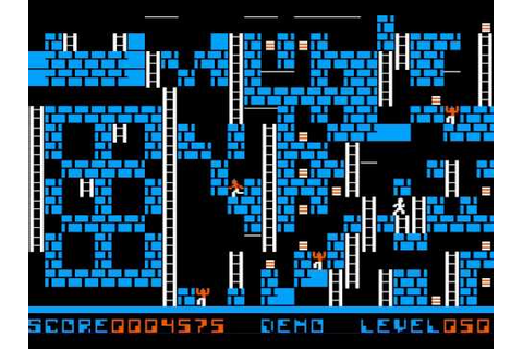 Championship Lode Runner Level 50 (Lode Runner Web Game ...