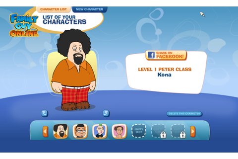 Family Guy Dijadikan Game Online! ~ Just Share
