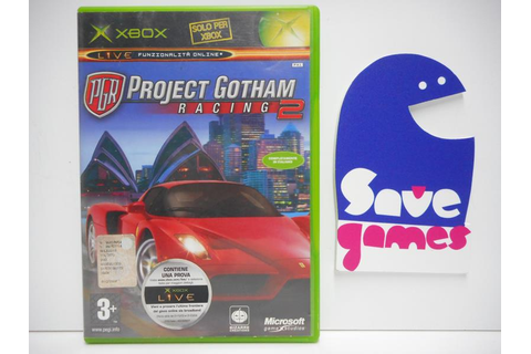 Project Gotham Racing 2 - Save Games