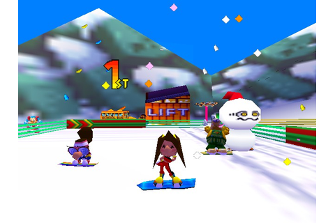 Play Snowboard Kids 2 Online N64 Game Rom - Nintendo 64 ...