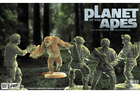 WYSIWYGames Celebrates 50 Years Of Planet Of The Apes ...