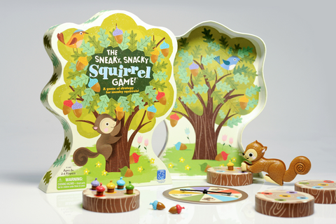 The Sneaky, Snacky Squirrel Game on Behance