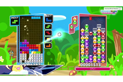 Review: Puyo Puyo Tetris (Nintendo Switch) - Digitally ...