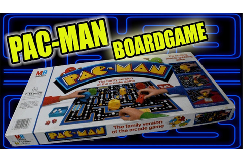 How to play The PAC-MAN board game 1982 - YouTube