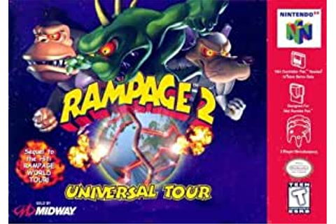 Amazon.com: Rampage 2: Universal Tour: Video Games