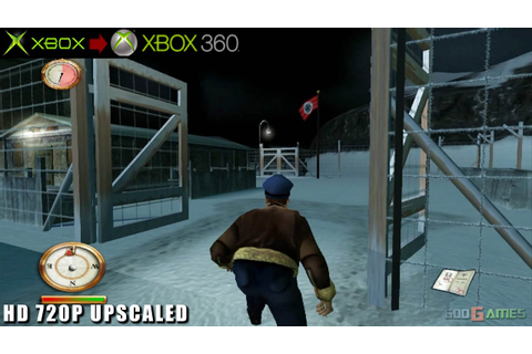 The Great Escape - Gameplay Xbox HD 720P (Xbox to Xbox 360 ...