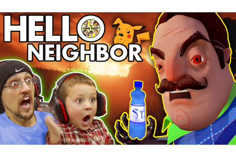 HELLO NEIGHBOR! Scary BASEMENT Mystery Game! His Secret ...