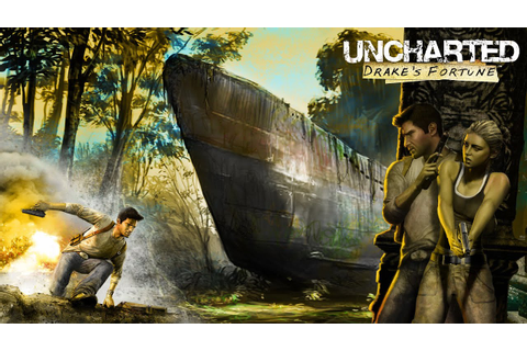 Uncharted: Drake's Fortune (PS4 - Game Movie) - YouTube