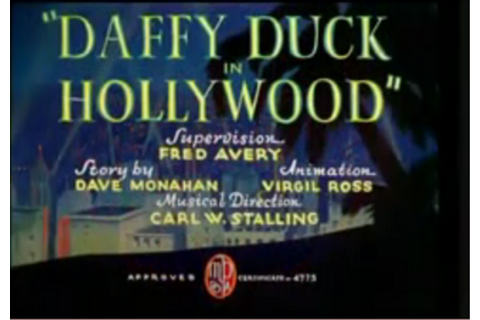 Daffy Duck in Hollywood - Wikipedia