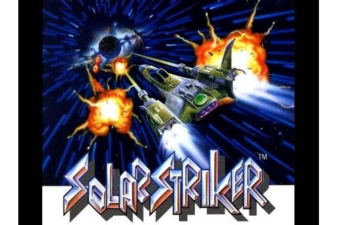 SOLAR STRIKER - shoot em up - Partida completa - GAME BOY ...