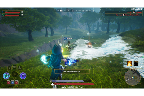 Last wizard standing 'em up Spellbreak zaps out a closed ...