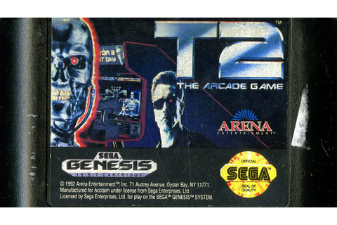 CGR Undertow - T2: THE ARCADE GAME review for Sega Genesis ...