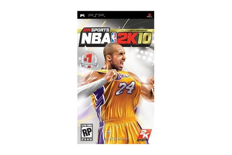 NBA 2k10 PSP Game 2K Games - Newegg.com