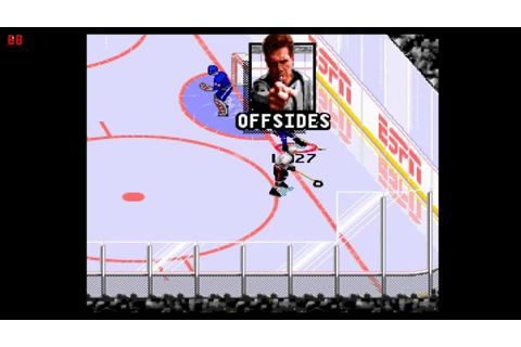 Let's Play ESPN National Hockey Night (SNES) - YouTube